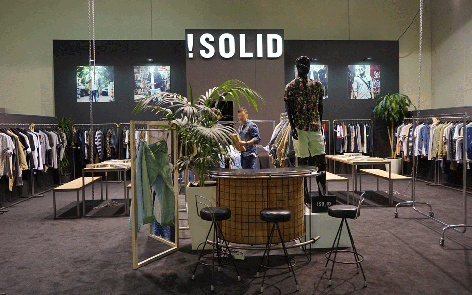 Solid Exhibition Booth